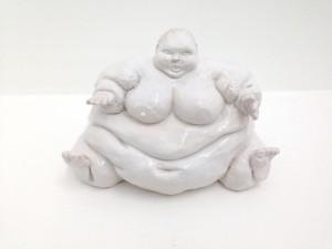Chris Mason, Not titled, 2013, ceramic, 18 x 30 x 22 cm