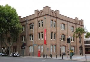 Artspace, 43-51 Cowper Wharf Road, Woolloomooloo, NSW. Photo: 2012, courtesy of Artspace
